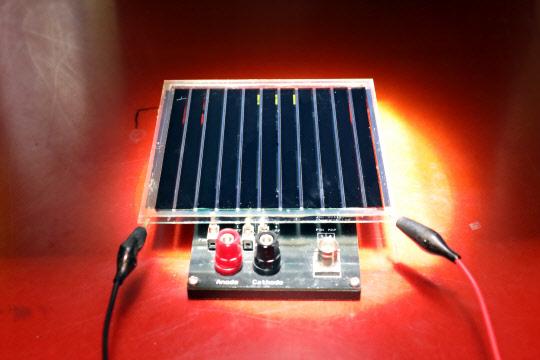 상온서 유기태양전지 대량 생산기술 국내서 개발